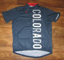 Colorado Short-Sleeve Mens Cycling Jersey, Pearl Izumi, Blue, Full-Zip, New