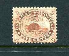 Canada Stamp 5¢  # 15 Beaver Used