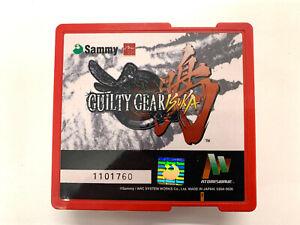 Guilty Gear Isuka originale JAMMA Game Cartridge SAMMY ATOMISWAVE