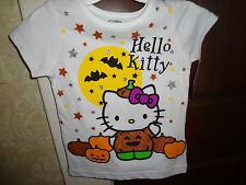 Girls Hello Kitty Halloween T-Shirt 3T New