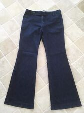 WOMENS, GAP,  STRAIGHT FIT FLARED LEG, STRETCH JEANS, SIZE US 4 AU 10,  #628