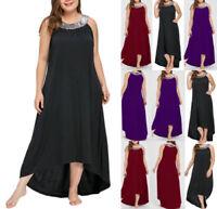 Plus Size Women's Elegant Fashion Evening Party Casual Formal Maxi Dress/Skirt