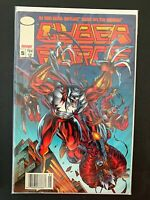 CYBER FORCE #5 IMAGE COMICS FN/VF [NEWSSTAND] 1992 RARE!!