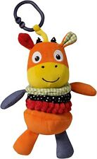 Suncrest FUNBERRY FARM MIKEY MOO WRIGGLE BACK Plush/Soft Toy Newborn Baby BN