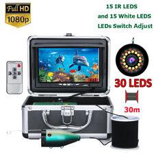 30M Fish Finder Underwater Fishing Camera 30pcs LED 1080P Camera For Ice Fishing