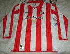 Sunderland football shirt Home child boy JXL 13/14 yrs 2004 - 2005 diadora l/s