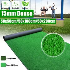 More details for uk artificial turf grass synthetic realistic indoor outdoor mat fake lawn carpet