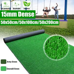 UK Artificial Turf Grass Synthetic Realistic Indoor Outdoor Mat Fake Lawn Carpet