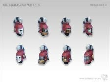 Tabletop-ART Bloody Sports Head-Set 4-Fantasy Football, Blood Bowl, dreadball