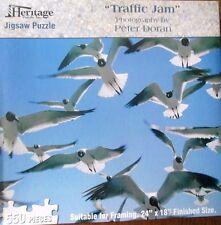 """Traffic Jam"" photo by Peter Doran Jigsaw Puzzle 1000 pcs 24"" x 18"" Sea Gulls"