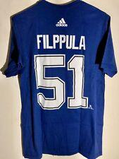 adidas  NHL T-Shirt Tampa Bay Lightning Valtteri Filppula Blue sz M