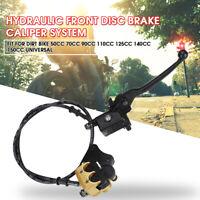 Hydraulic Front Disc Brake Caliper System 50cc 70cc 125cc PIT PRO Dirt Bike UK