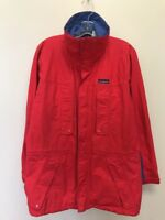 Vintage Patagonia Light Jacket Mens Size Small Red Blue