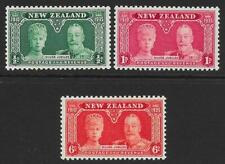 New Zealand 1935 Silver Jubilee Set (MNH)