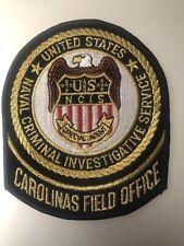 North Carolina  Police - USN NCID Carolina Field Office  NC Police Patch