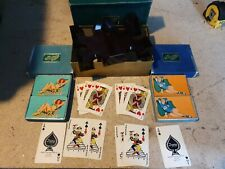 More details for esquire playing cards 2x twin decks pin up girls bakalite tray