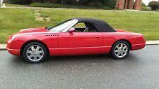 2002 Ford Thunderbird deluxe Convertible 2-Door