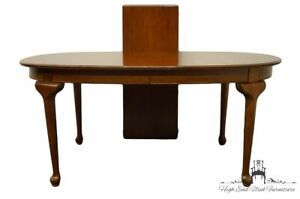 """ETHAN ALLEN Georgian Court Solid Cherry Oval 84"""" Dining Table 11-6064"""