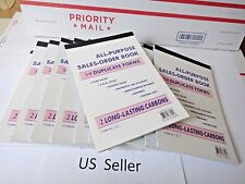 """50X-Sales Order Book Receipt Invoice Duplicate 50 sets Forms 5.75"""" X 8.50"""" USA"""