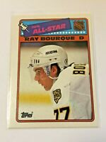 1988-89 Topps Hockey All-Star Sticker - Ray Bourque - Boston Bruins