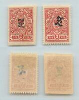 Armenia 1919 SC 92, 92a mint. rtb5197