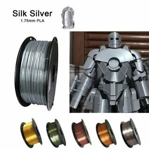 Shiny Metallic Feel 3D Printer Filaments High Quality Printing Material Supplies