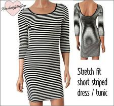 Atmosphere Casual Striped Dresses Viscose for Women