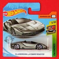 Hot Wheels 2019   ´16 LAMBORGHINI CENTENARIO ROADSTER  213/250 NEU&OVP