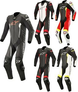 Alpinestars Missile Men's One Piece Leather Suit for Tech-Air-E -airbag Bike