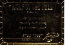 STAR TREK ORIGINAL SERIES 2 GOLD CARD G36
