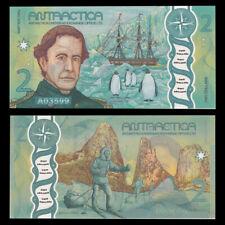 Antarctic Territories 2 Dollars,  2020, UNC