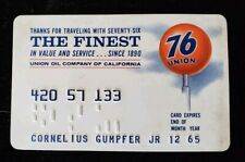 76 Union Oil California Credit Card exp 1965 ♡Free Shipping♡cc185