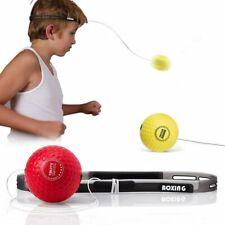 Tekxyz Boxing Reflex Ball, 2 Different Boxing Balls with Headband Brand New