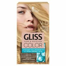 Schwarzkopf GLISS COLOR Hair Permanent 9-0 Natural Light Blonde Hyaluronic Acid