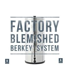 Royal Berkey Water Filter System Purify w/ 2 Black Filters Authorized Blemished