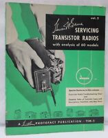 Sams Servicing Transistor Radios w/ Analysis of 60 Models Photofact TSM-2 Vol 2