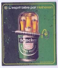★ HEINEKEN ★  Esprit Bière #3 Sous bock coaster deckel