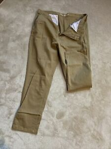 Pepco Men's Sand Relaxed Slim trousers Sixe W38/L30