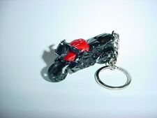 NEW 3D BMW SPORT BIKE CUSTOM KEYCHAIN keyring key MOTORCYCLE red BACKPACK BLING