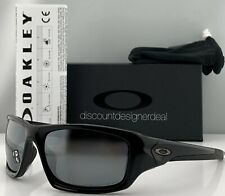 Oakley Valve Sunglasses OO9236 12-837 Polished Black Black Iridium Polarized 60