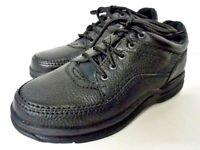 Rockport WT Classic MWT18 W Pebbled Black Leather Walking Shoes Size US 7.5 NIB