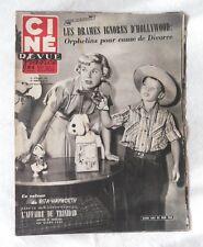 CINE-REVUE 24 octobre 1952 DORIS DAY FERNANDEL ROBERTO BENZI MARTINE CAROL