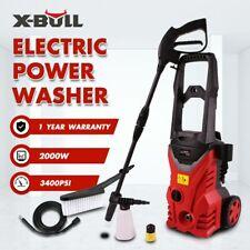 X-BULL 3400PSI High Pressure Washer Electric Water Cleaner Gurney Pump Hose