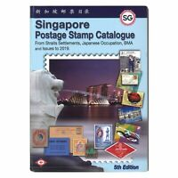 Singapore Postage Stamp Catalogue 2019 5th Edition Full Colour 215 Pages
