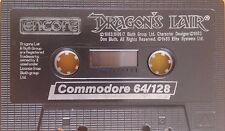 Dragons Lair C64 Kassette (Tape) funktioniert 100 %