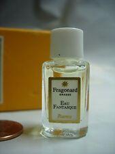 WOMENS FRAGONARD EAU FANTASQUE PERFUME PARFUM 2 ML VANITY BOTTLE FREESIA AMBER