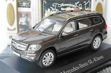 MERCEDES BENZ GL CLASS X166 2012 CITRIN BROWN METAL NOREV B66960096 1/43 KLASSE
