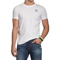Abercrombie & Fitch Men Cobble Hill Moose Embroidered Crew-Neck T-Shirt -$0 Ship