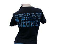De Puta Madre Damen T-Shirt, schwarz Größe XS, NEU