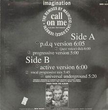 IMAGINATION - Call On Me (Maurizio Jazz Voix Van goethem Rmx) - 1992 New Music